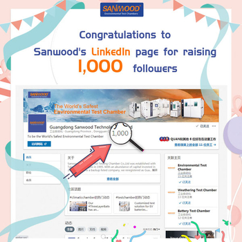 Congratulations to Sanwood's LinkedIn page for raising 1,000 followers