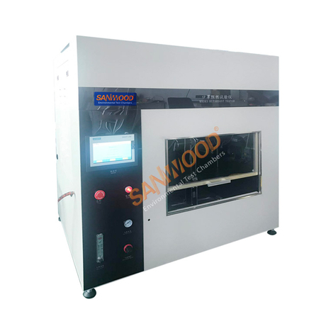 Mask Flame Retardant Test Chamber (with head mould)